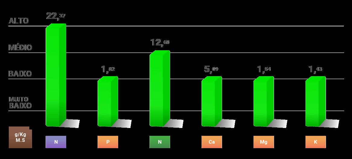 Amazon AgroSciences Fertilizantes Resultados Cana-de-açúcar Gráfico 2 Padrão Amazon HD