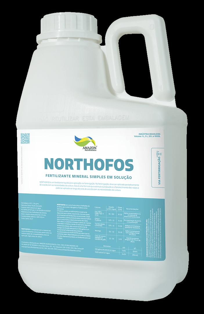 Amazon AgroSciences Fertilizantes Líquidos de Alto Desempenho NORTHOFOS Foto do Produto