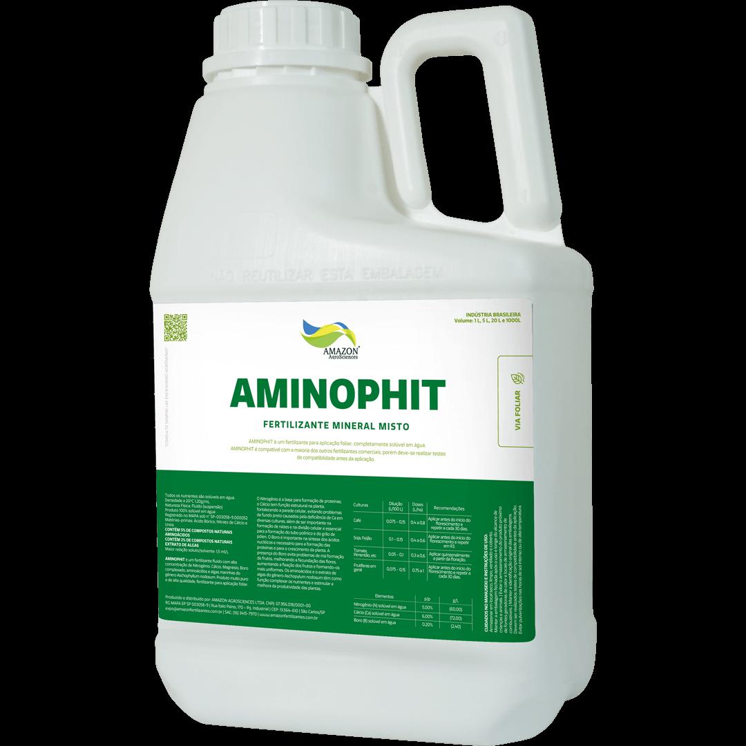 Amazon AgroSciences Fertilizantes Líquidos de Alto Desempenho Foto de Produto Aminophit
