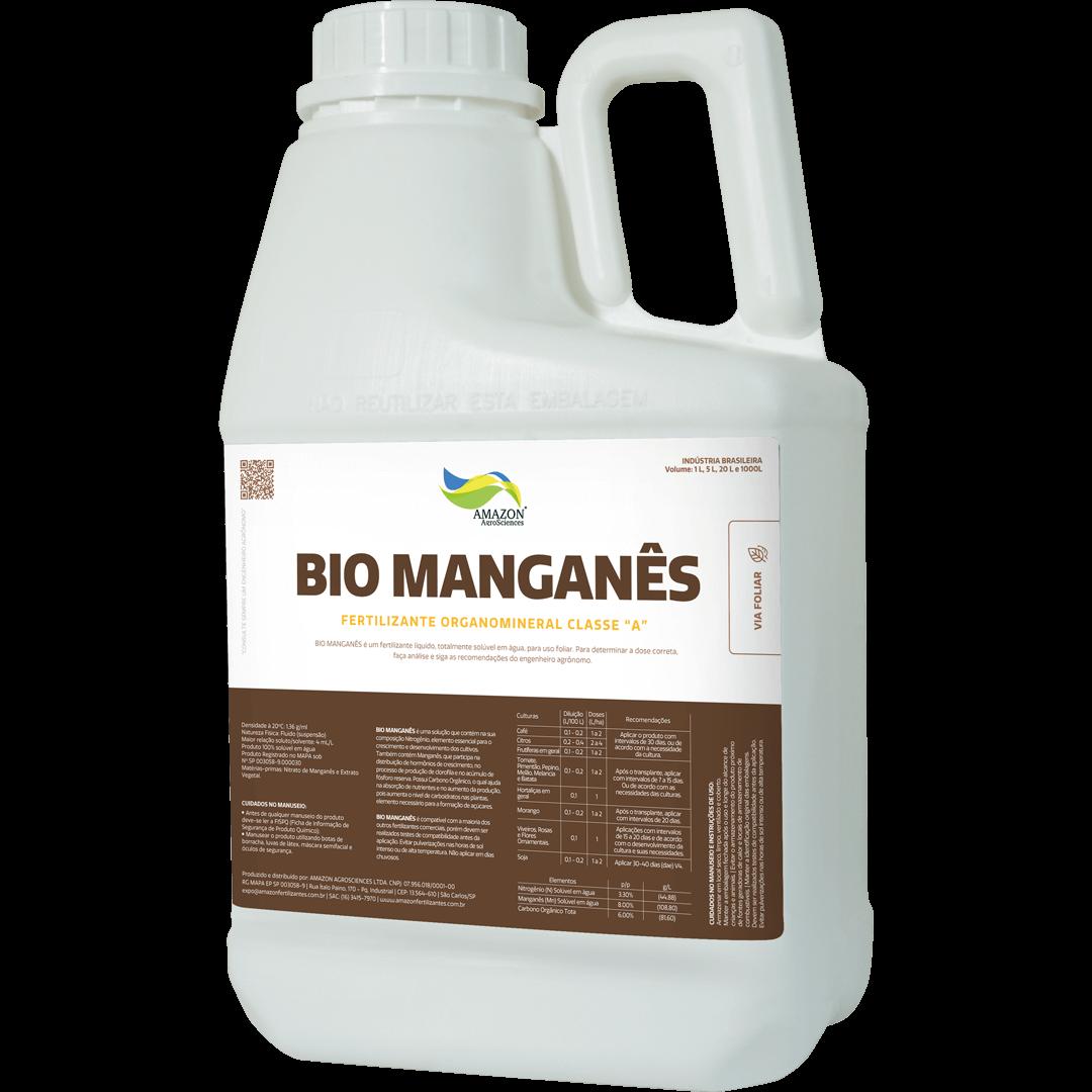 Amazon AgroSciences Fertilizantes Líquidos de Alto Desempenho Foto de Produto Bio Manganês