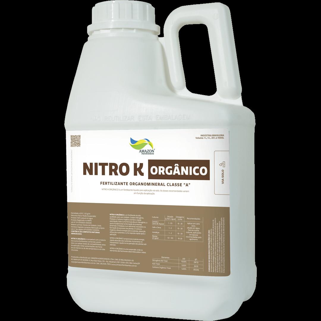 Amazon AgroSciences Fertilizantes Líquidos de Alto Desempenho Foto de Produto Nitro K Orgânico