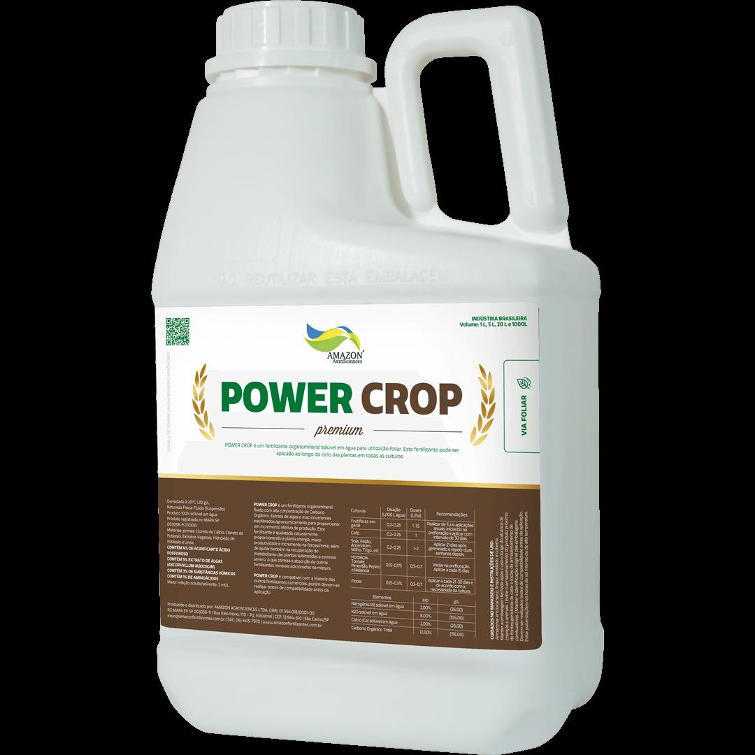Amazon AgroSciences Fertilizantes Líquidos de Alto Desempenho Foto de Produto Power Crop